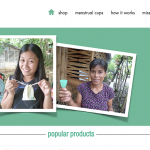 "Singapore –  Eco-friendly ""Freedom Cups"" to change women's life"
