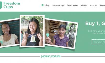 新加坡社企推廣環保月經杯   解放亞洲女孩