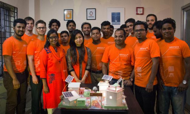 社企創 SOLshare 共享太陽能電網 開發孟加拉新經濟