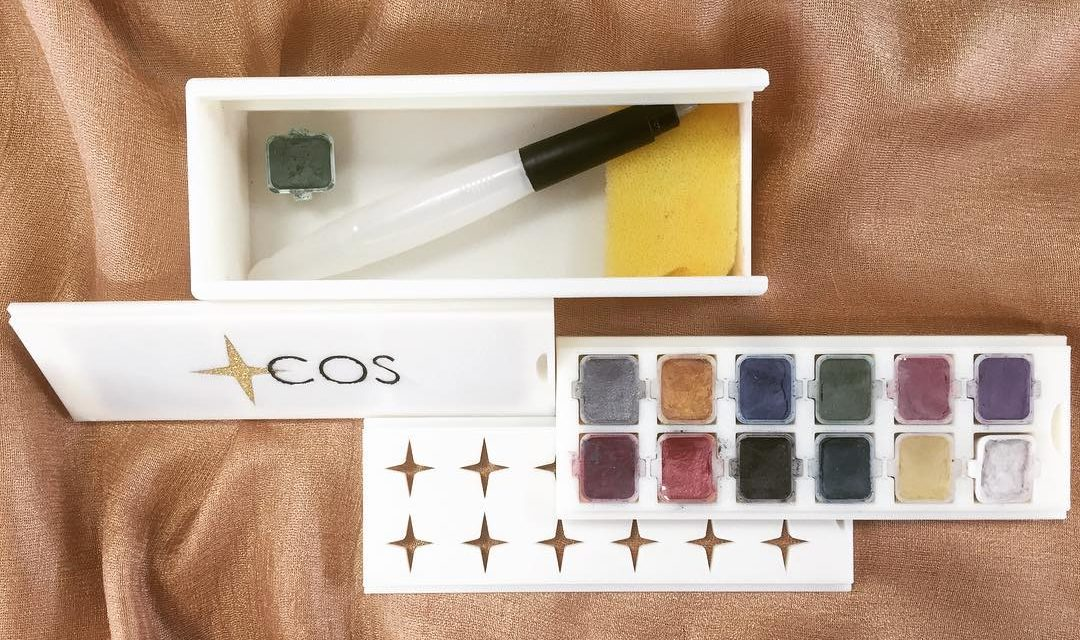 Ladies Art: Ameenah Begum transforms expired cosmetics to sustainable colourpaints