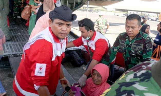 印尼蘇拉威西大地震 緊急救援