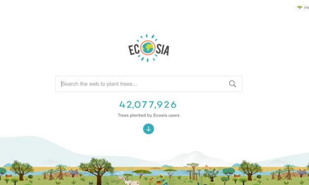 Ecosia 讓你透過網絡搜尋成為 「植樹王」?目標2020年前全球種植10億棵樹