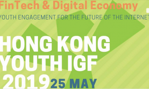 The Hong Kong Youth Internet Governance Forum (HKyIGF) May 25, 2019