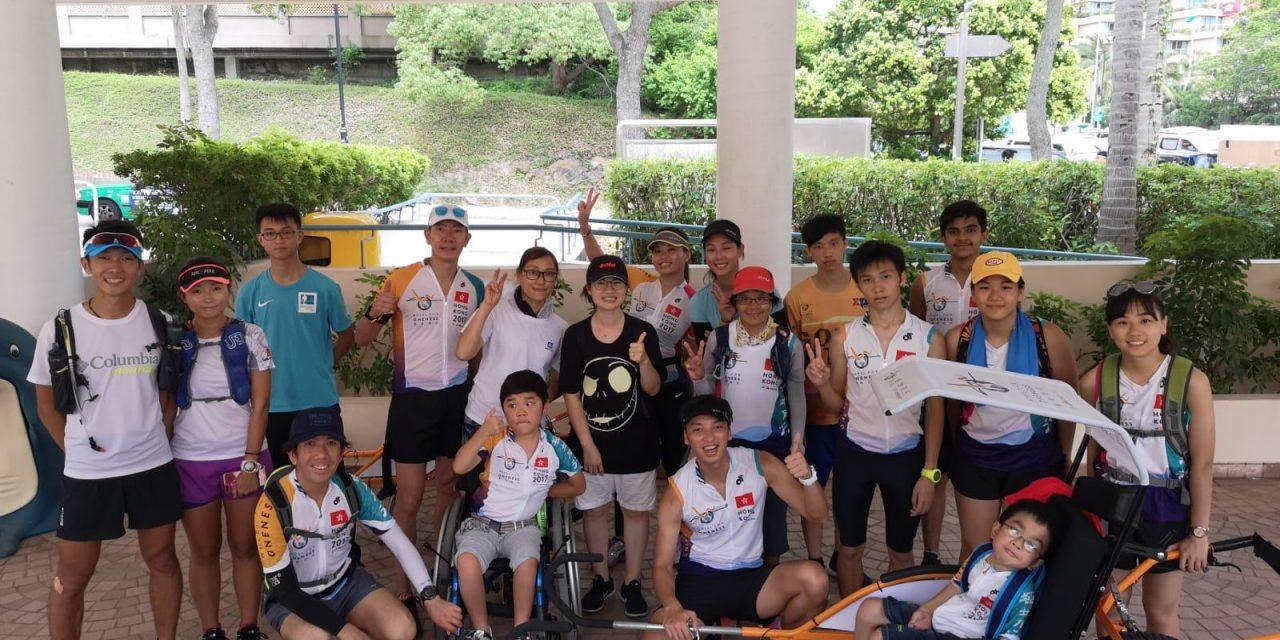 HK – Wheel For Oneness 12hours Wheel Barrow Run Guninness World Record on Jun 16