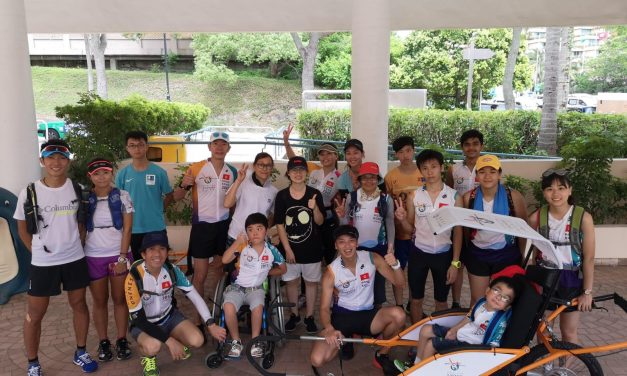 HK – Wheel For Oneness 12hours Wheel Barrow Run Guninness World Record on Jun 16