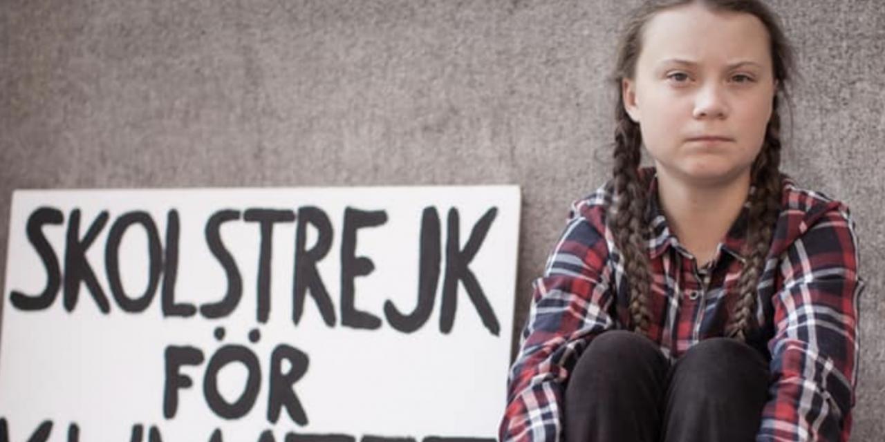 你不能不認識的 16歲環保少女Greta Thunberg
